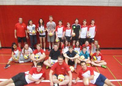 Teilnehmer der VLW -Jugendrunde 2012:2013